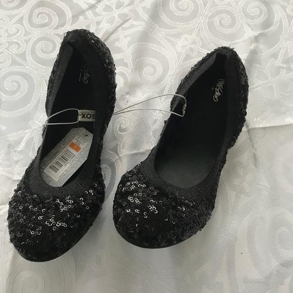 488c24e4a0 Mossimo Supply Co Shoes   Black Sequined Ballet Flats Nwt   Poshmark